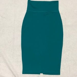 Bebe bodycon Midi Skirt Sz Small